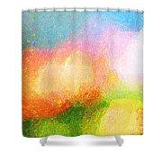 Colorama Shower Curtain