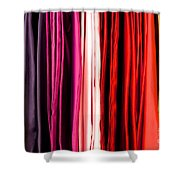 Colored Cloth Shower Curtain