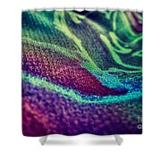 Colored Shower Curtain