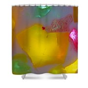 Colorful Abstract 01 Shower Curtain