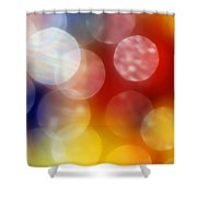 Colorful Abstract 4 Shower Curtain
