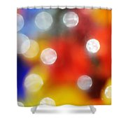 Colorful Abstract 8 Shower Curtain