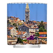 Colorful Adriatic Town Of Losinj Shower Curtain