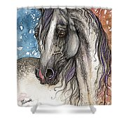 Colorful Arabian Horse  Shower Curtain