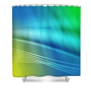 Colorful Background Shower Curtain
