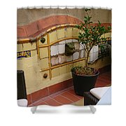Colorful Balcony Shower Curtain