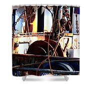 Colorful Boat Shower Curtain