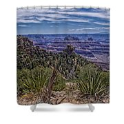 Colorful Canyon Shower Curtain