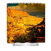 Colorful Capital Reef Shower Curtain