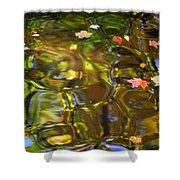 Colorful Carmel Shower Curtain