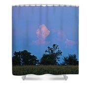 Colorful Cloud Shower Curtain
