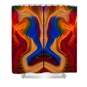 Colorful Compromise Shower Curtain