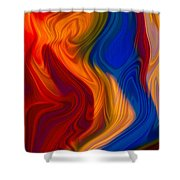 Colorful Compromises II Shower Curtain