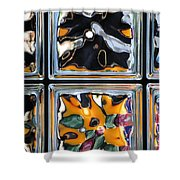 Colorful Contortion Shower Curtain