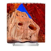 Colorful Corona Rocks Shower Curtain