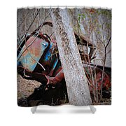 Colorful Crash Shower Curtain