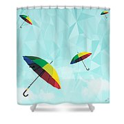 Colorful Day Shower Curtain by Mark Ashkenazi