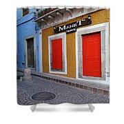 Colorful Doors Guanajuato Mexico Shower Curtain