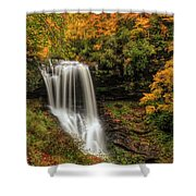 Colorful Dry Falls Shower Curtain