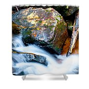 Colorful Energy Shower Curtain