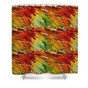 Colorful Extrude 2 Shower Curtain