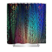 Colorful Garlands Shower Curtain