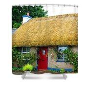 Colorful Irish Cottage Shower Curtain