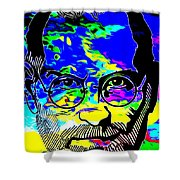 Colorful Jobs Shower Curtain