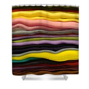 Colorful Layers Shower Curtain