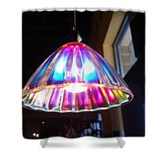 Colorful Light  Shower Curtain