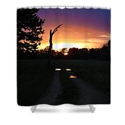 Colorful Mudholes Shower Curtain