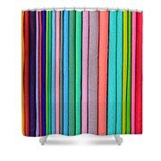 Colorful Pashminas Shower Curtain