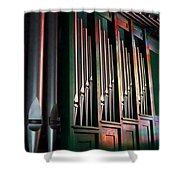Colorful Pipes Shower Curtain