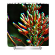 Colorful Plant Shower Curtain