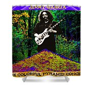Colorful Pyramid Concert Shower Curtain
