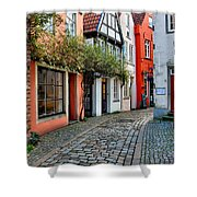 Colorful Schnoor Shower Curtain
