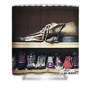 Colorful Shoes Shower Curtain