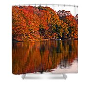 Colorful Shores Shower Curtain