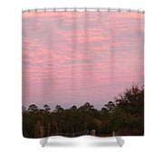 Colorful Sky Number 2 Shower Curtain