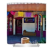 Colorful Store In Albuquerque Shower Curtain