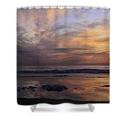 Colorful Sunrise Shower Curtain