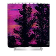 Colorful - Sunset Shower Curtain