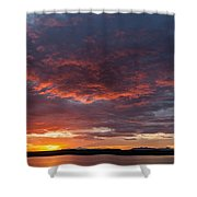 Colorful Sunset, Snaefellsnes Shower Curtain