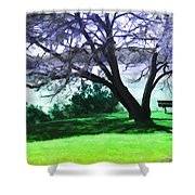 Colorful View Shower Curtain
