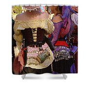 Colorful Wenches Shower Curtain