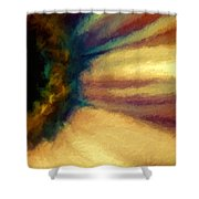 Coloring Flowers Shower Curtain