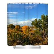 Colors Along The Colorado Shower Curtain