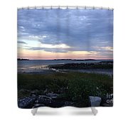 Colors And Textures Shower Curtain