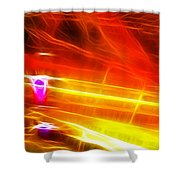 Colors Explosion Shower Curtain
