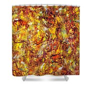 Colors In Motion Shower Curtain